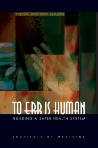 To err is human_cover