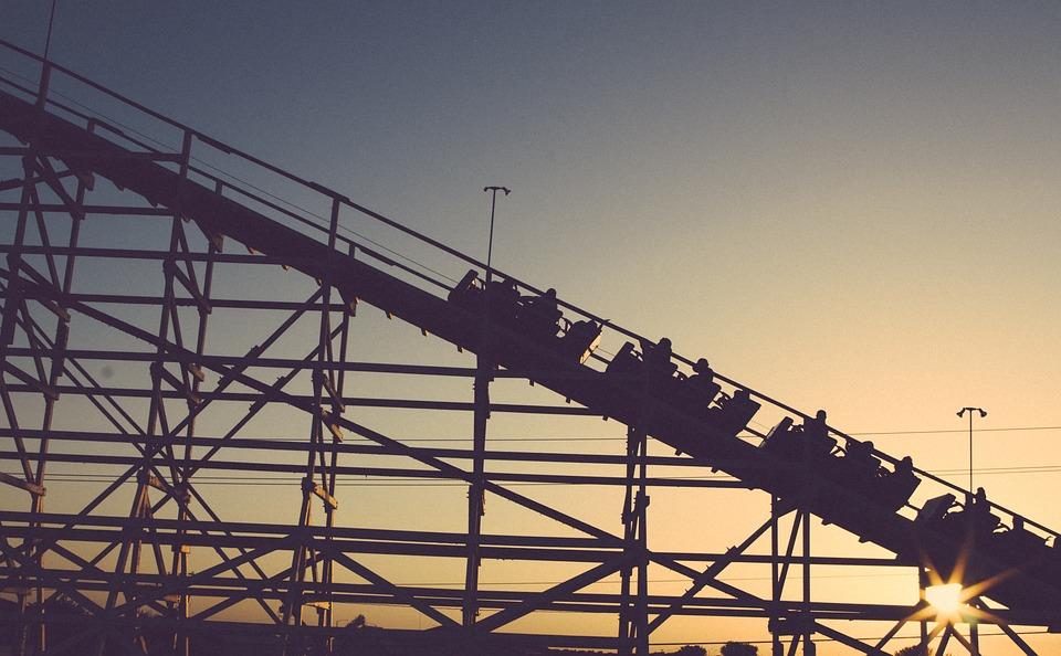 Roller Coaster Ride Amusement Park Coaster